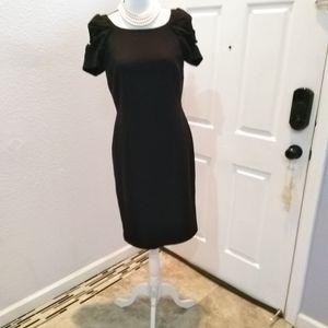 Ann Taylor black dress size 6